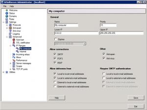 IP Relay Configuration