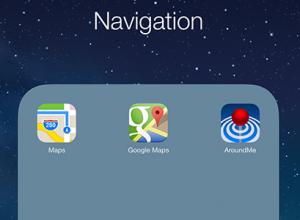 Folders in iOS