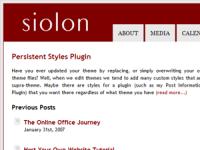 Business Casual WordPress Theme