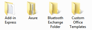 Folders in Windows
